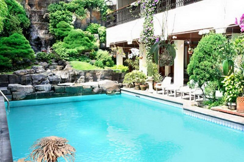 zwembad - Duta Guesthouse - Yogyakarta - Indonesië