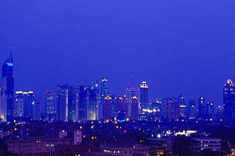 uitzicht - Santika Premiere - Jakarta - Indonesië