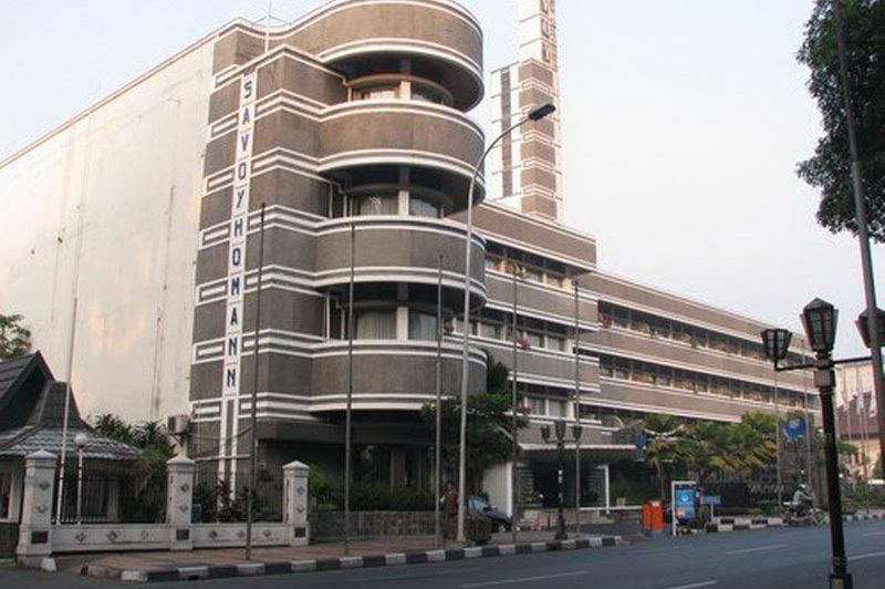vooraanzicht - Savoy Homann - Bandung - Indonesië