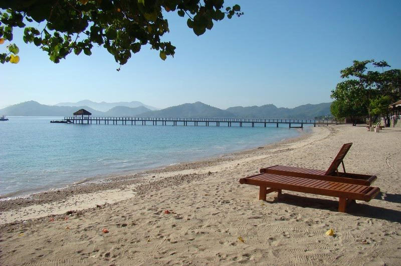 uitzicht - Cocotinos Sekotong - Lombok - Indonesië