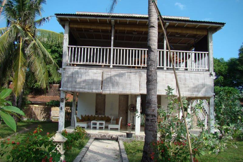 hotel - Gili Eco Villas - Gili Trawangan - Indonesië