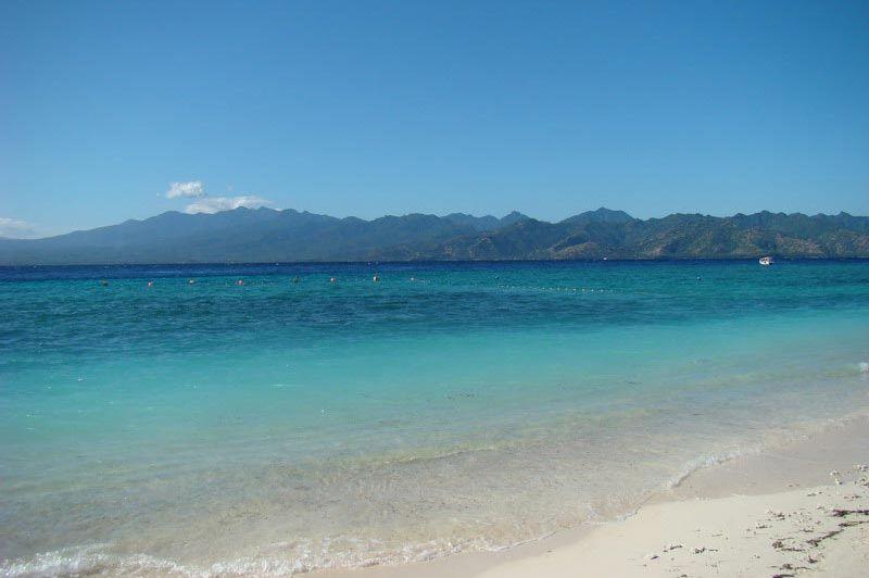 strand - Hotel Vila Ombak - Gili Trawangan - Indonesië