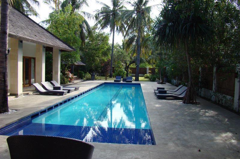 zwembad - Kelapa Luxury Villas - Gili Trawangan - Indonesië