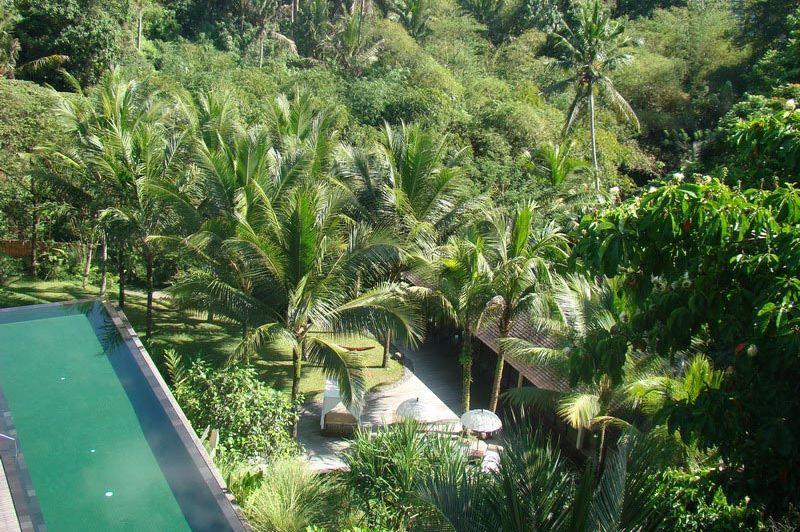 uitzicht - Komaneka at Bisma - Bali/Ubud - Indonesië