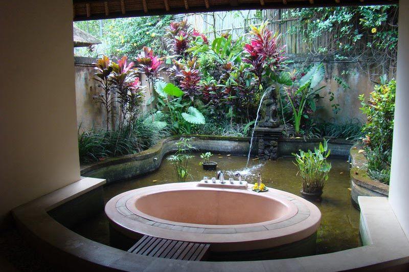 badkamer - Taman Di Blayu - Bali/Belayu - Indonesië