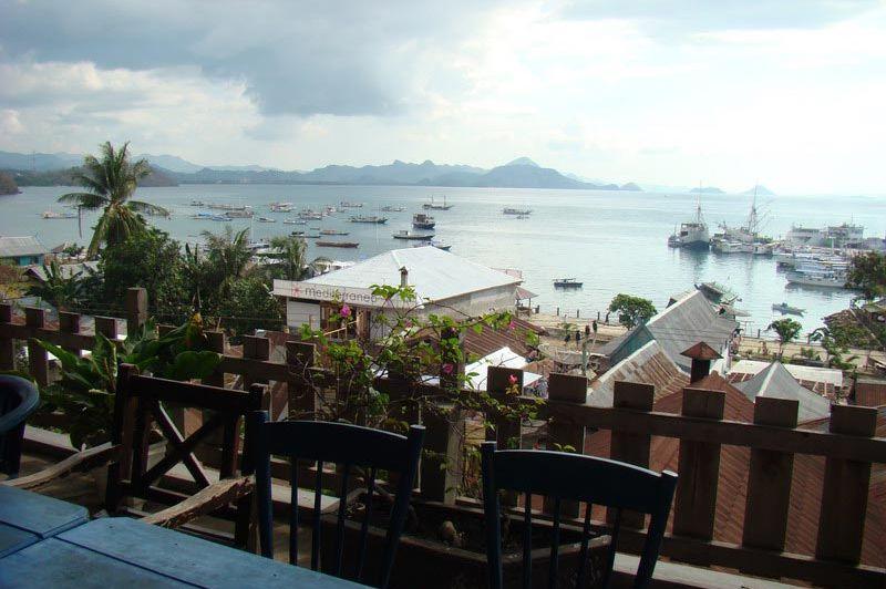 uitzicht - Green hill - Labuan Bajo - Indonesië
