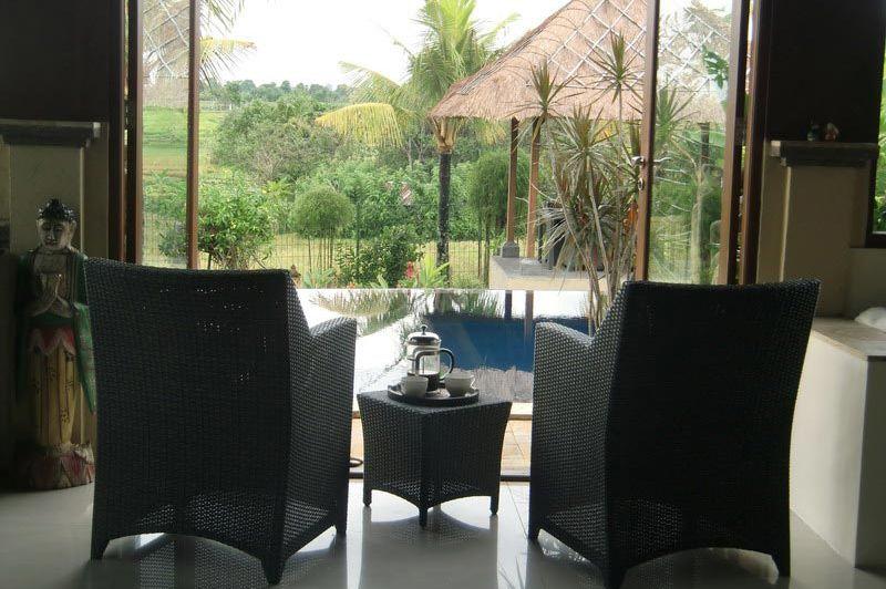 uitzicht - Villa Mawar Berawa - Indonesië