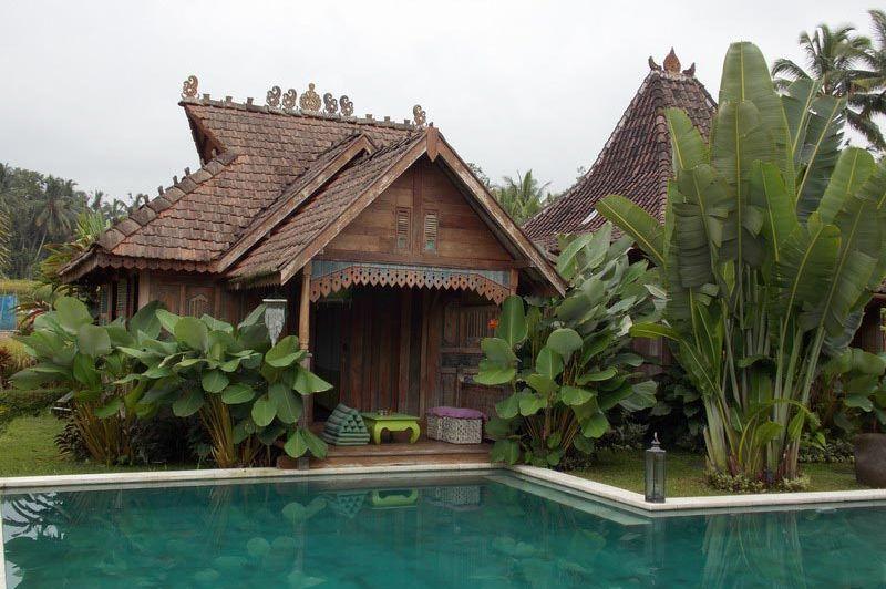zwembad en Green Bungalow Tanah Cinta Village - Tanah Cinta Village - Indonesië