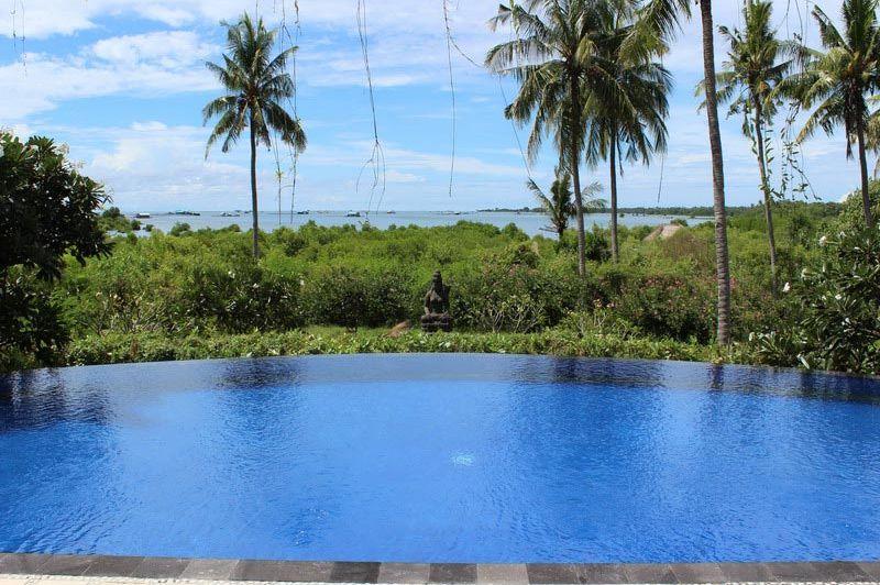 zwembad - Santi Sari Boutique Hotel - Santi Sari Boutique Hotel - Indonesië