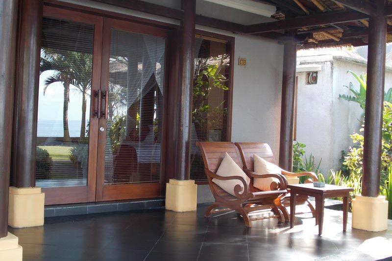terras voor kamer - The Nirwana Resort and Spa Candidasa - The Nirwana Resort and Spa Candidasa - Indonesië