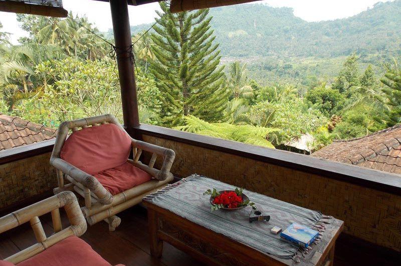 uitzicht vanaf veranda - Lihat Sawah Sidemen - Lihat Sawah Sidemen - Indonesië