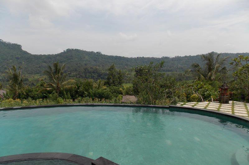 zwembad met uitzicht - Lihat Sawah Sidemen - Lihat Sawah Sidemen - Indonesië