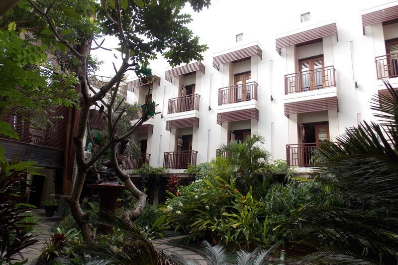 binnentuin - Hotel Luta Toraja - Hotel Luta Toraja - Indonesië
