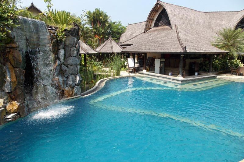 zwembad - Villa Lumbung - Seminyak - Villa Lumbung Seminyak - Indonesië
