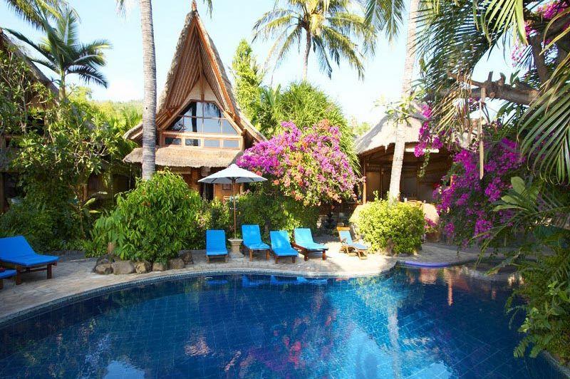 zwembad Santai Bali Amed - Santai Bali Amed - Indonesië