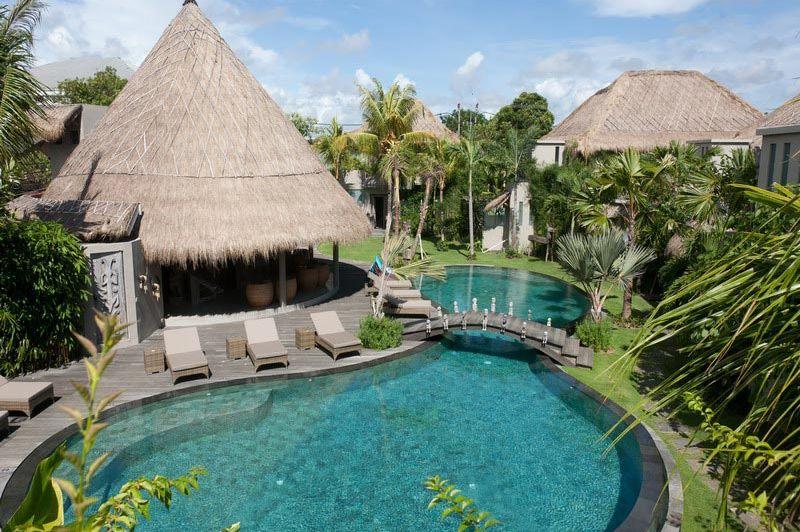 Blue Karma zwembad - Blue Karma Hotel - Indonesië - foto: Blue Karma Hotel