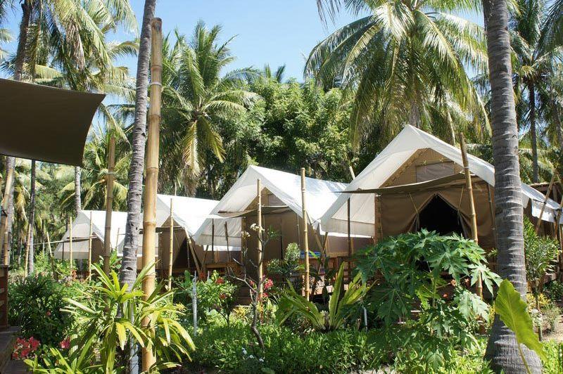 Uitzicht van La Cocoteraie - La Cocoteraie - Indonesië - foto: Lokale agent
