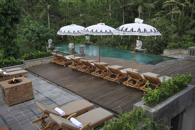 zwembad van The Kayon Resort Ubud - The Kayon Resort Ubud - Indonesië - foto: Lokale agent