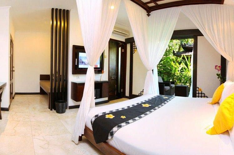 kamer van Candi Beach Resort Candidasa - Candi Beach Resort Candidasa - Indonesië - foto: Lokale agent