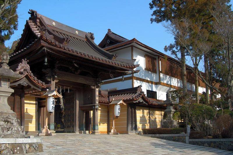 ingang - Ichijo In - Mount Koya - Japan