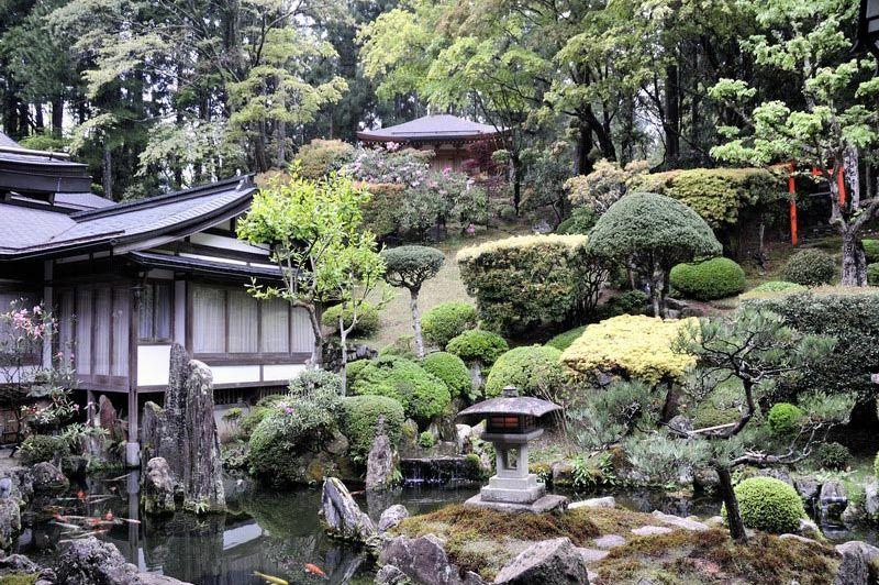 tuin - Ichijo In - Mount Koya - Japan