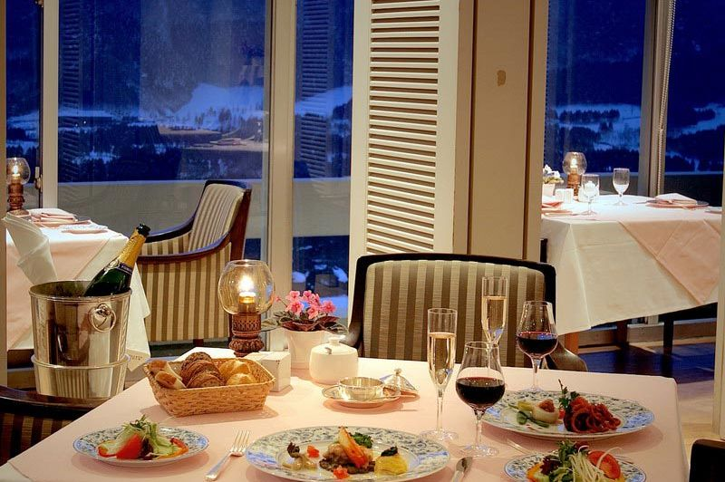 restaurant - Palace Hotel Hakone - Hakone - Japan