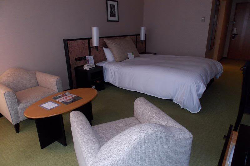 kamer in het Hotel Granvia Kyoto - Hotel Granvia Kyoto - Japan - foto: Floor Ebbers