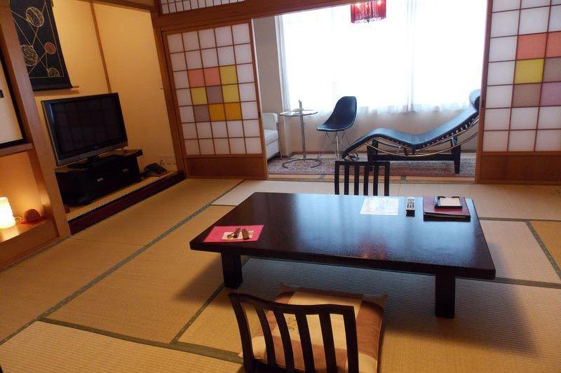 kamer in het Oyado Koto no Yume in Takayama - Oyado Koto no Yume Takayama - Japan - foto: Floor Ebbers