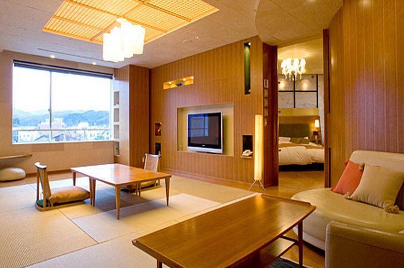 woonkamer in Honjin Hiranoya Kachoan Takayama - Honjin Hiranoya Kachoan Takayama - Japan - foto: Lokaal agent