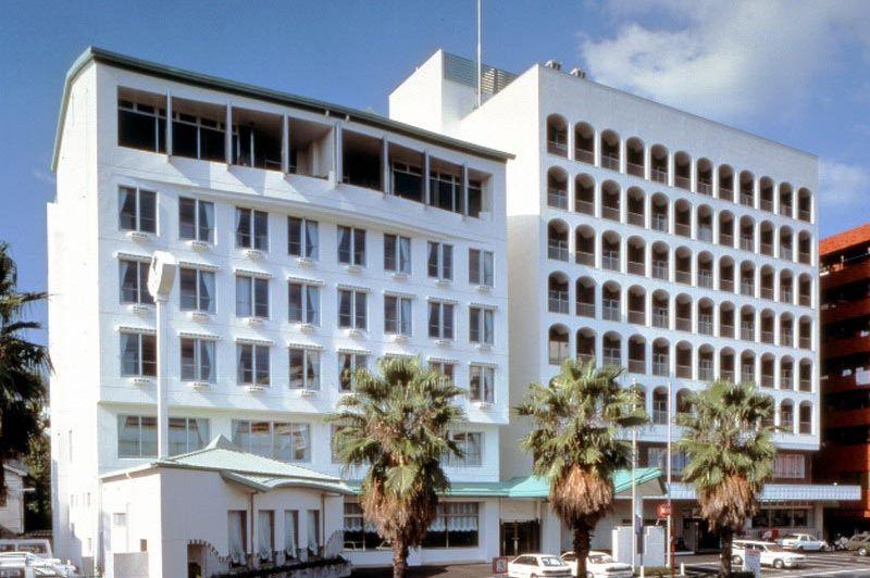 vooraanzicht in Hotel New Tsuruta in Beppu - Hotel New Tsuruta Beppu - Japan