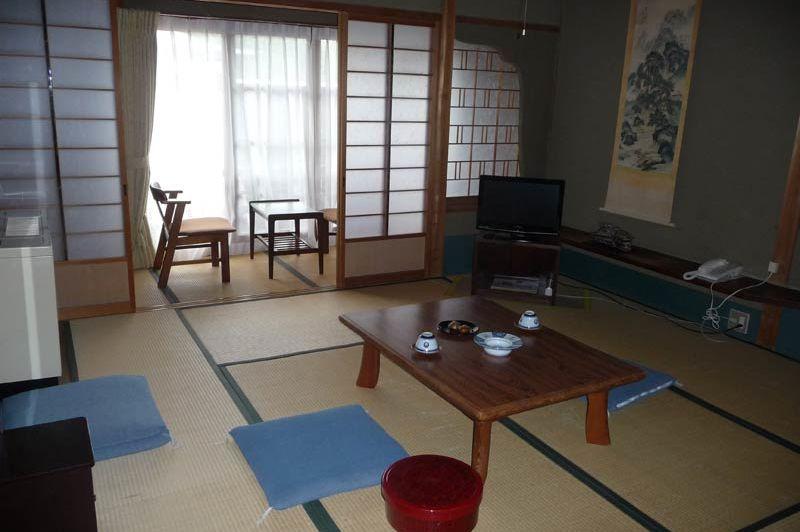 Kamer in Fukuchi-in Mount Koya - Fukuchi-in - Japan - foto: Floor Ebbers