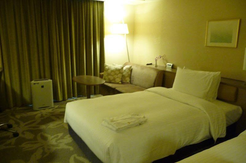 Twin room in Hotel Nikko in Fukuoka - Hotel Nikko - Japan - foto: Floor Ebbers