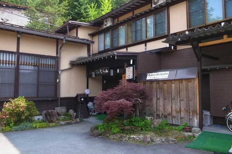 voorzijde van Ryokan Murayama - Ryokan Murayama - Japan - foto: Ryokan Murayama