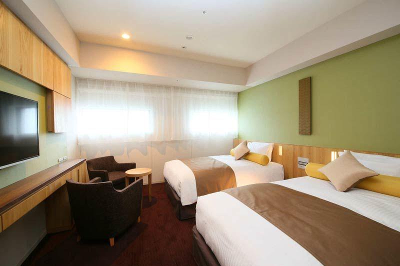twin kamer van Hotel Gracery Sapporo - Hotel Gracery Sapporo - Japan - foto: Hotel Gracery Sapporo