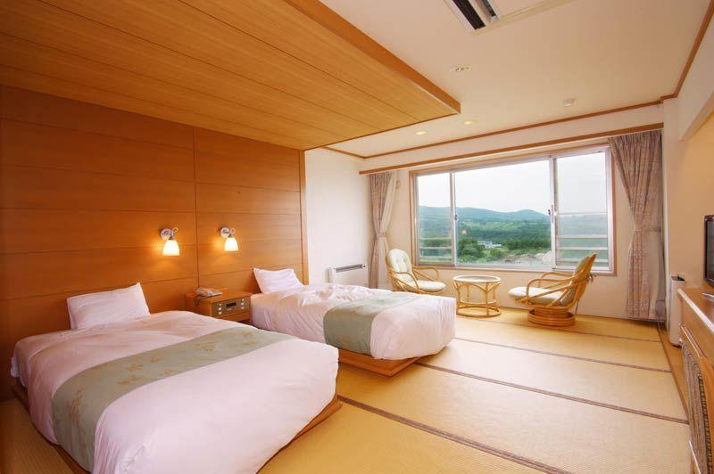 Westerse kamer van Shiretoko Daiichi Hotel - Shiretoko Daiichi Hotel - Japan - foto: Shiretoko Daiichi Hotel