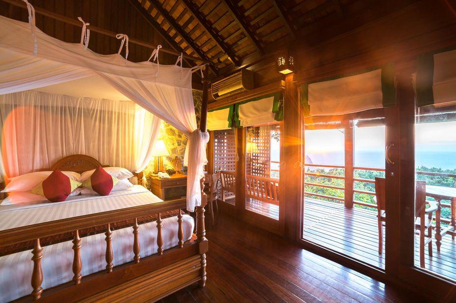 kamer - Popa Mountain Resort - Mount Popa - Myanmar - foto: Popa Mountain Resort