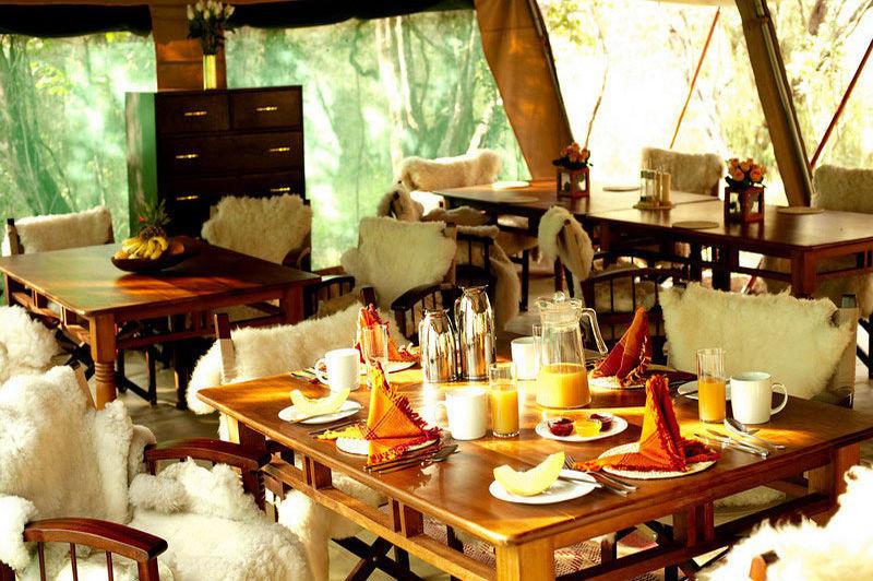 ontbijttent - Nairobi Tented Camp - Nairobi - Kenia