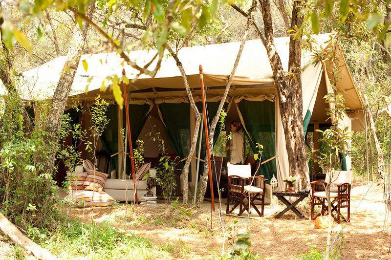 vooraanzicht tent - Nairobi Tented Camp - Nairobi - Kenia