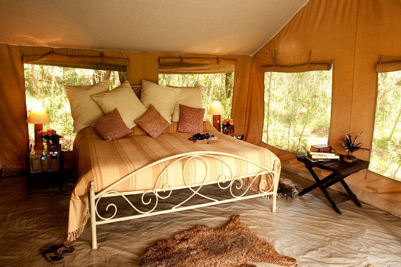 slaapkamer - Nairobi Tented Camp - Nairobi - Kenia