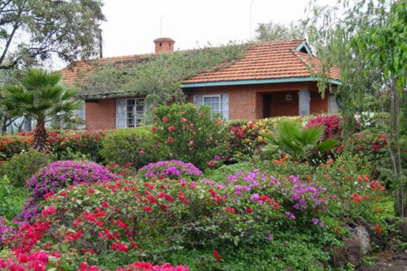 aanzicht hotel - Lake Elementaita Lodge - Kenia