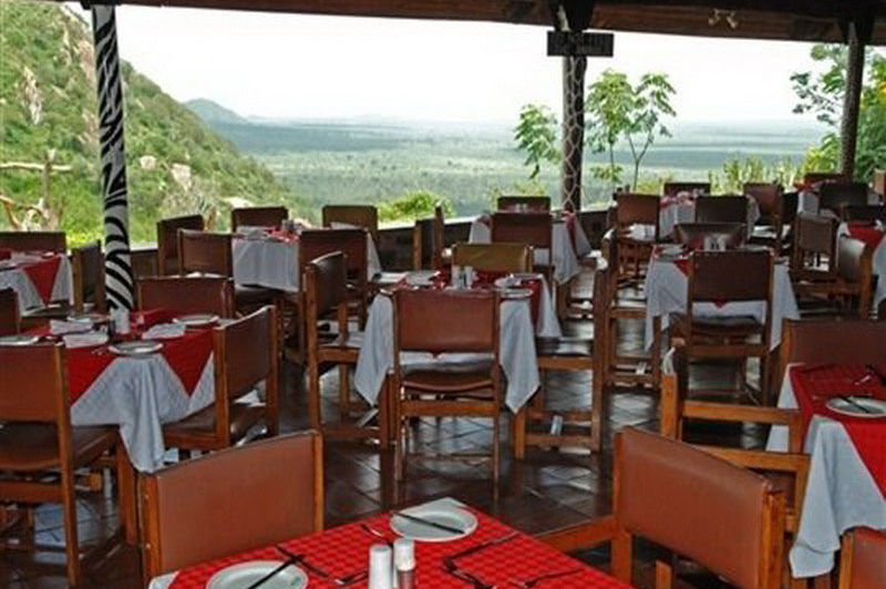 restaurant - Ngulia Safari Lodge - Kenia