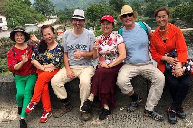 klantfoto - gezelligheid in China