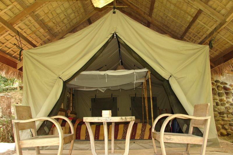 tent - Kamu Lodge - Kamu Village - Laos