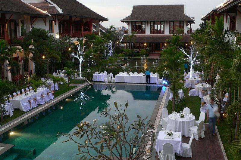 zwembad - Green Park Boutique hotel - Vientiane - Laos