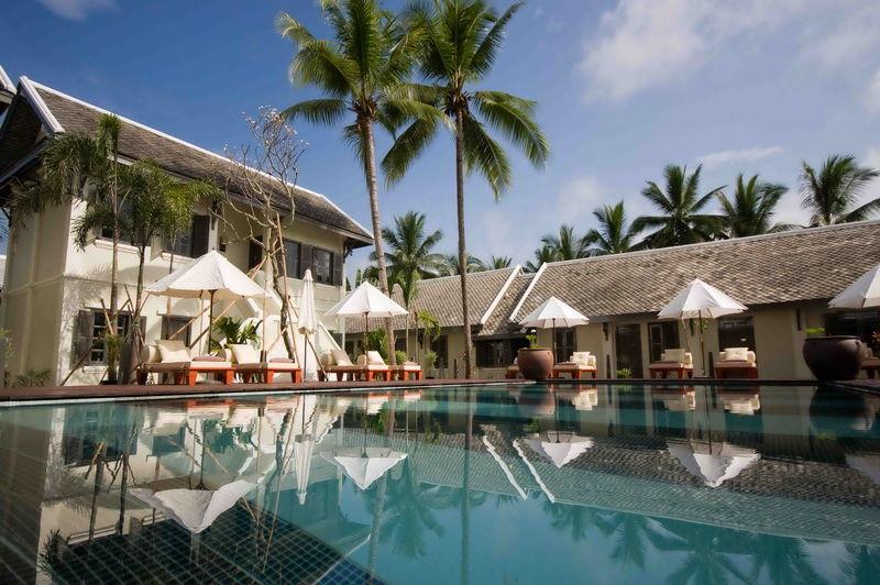 zwembad - Villa Maly - Luang Prabang - Laos
