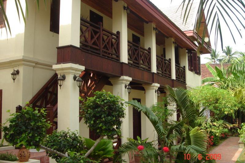 vooraanzicht2 - Villa Saykham - Luang Prabang - Laos