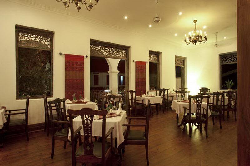 restaurant - Villa Santi Hotel - Laos