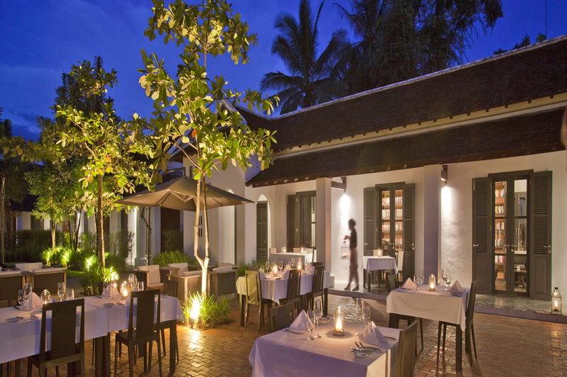 lounge Hotel de la Paix - Luang Prabang - Laos - foto: Sofitel Luang Prabang