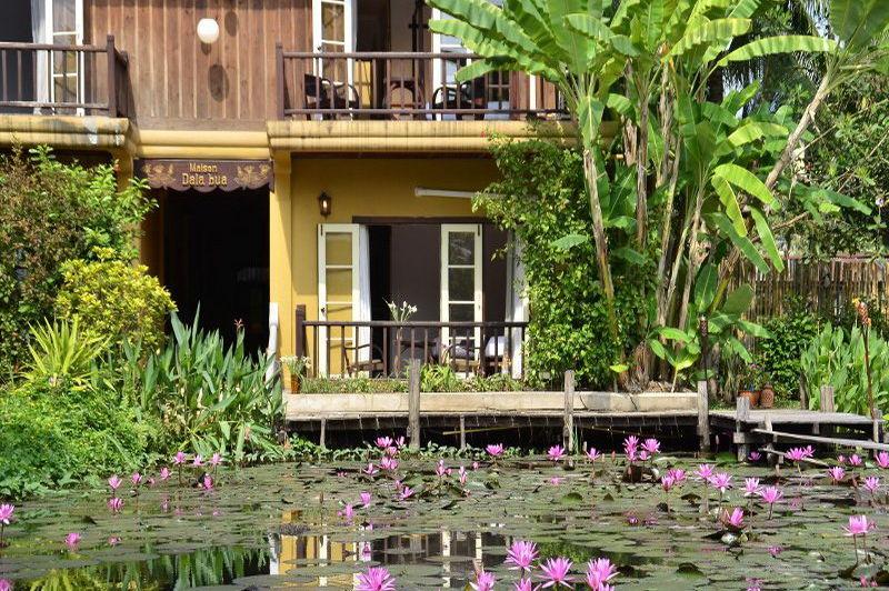 aanzicht kamer Maison Dalabua - Luang Prabang - Laos