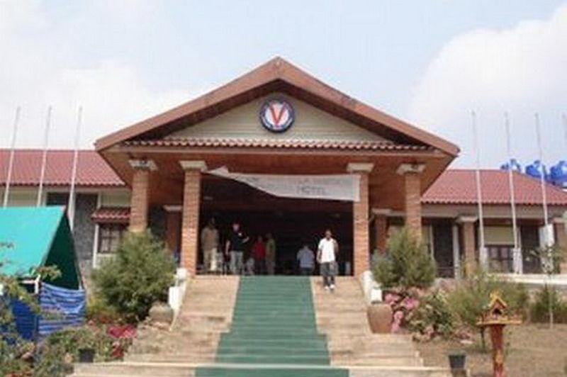 vooraanzicht Vansana Hotel - Vansana Hotel - Laos